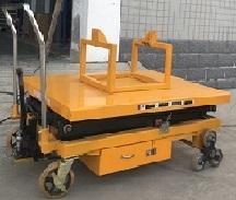高海拔悬吊式电机检修平台